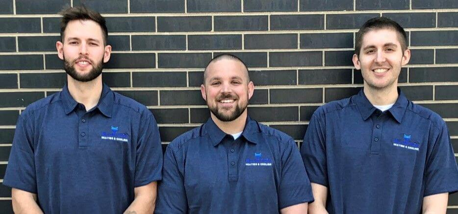 Blue Fox HVAC team members